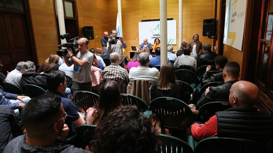 Consejo Político Nacional de Coalición Canaria celebrado este sábado.