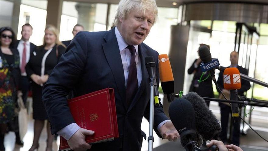 Boris Johnson: No quiero un divorcio áspero con la UE