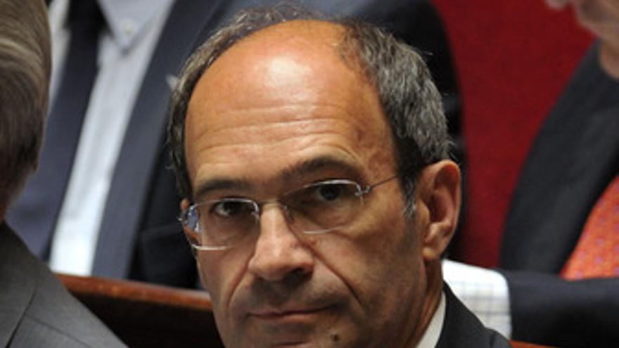 Ministro de Trabajo de Francia, Eric Woerth