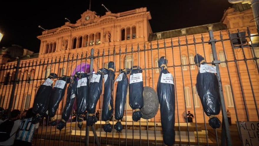 Plaza de Mayo, 27 de febrero 2021