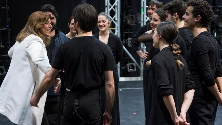 """El ballet Flamenco de Andalucía representa en Niebla """"Aquel Silverio"""""""