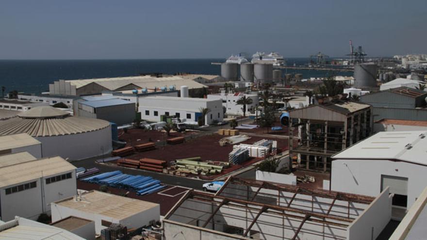 Central de desalación de Punta de Los Vientos, del Consorcio del Agua de Lanzarote