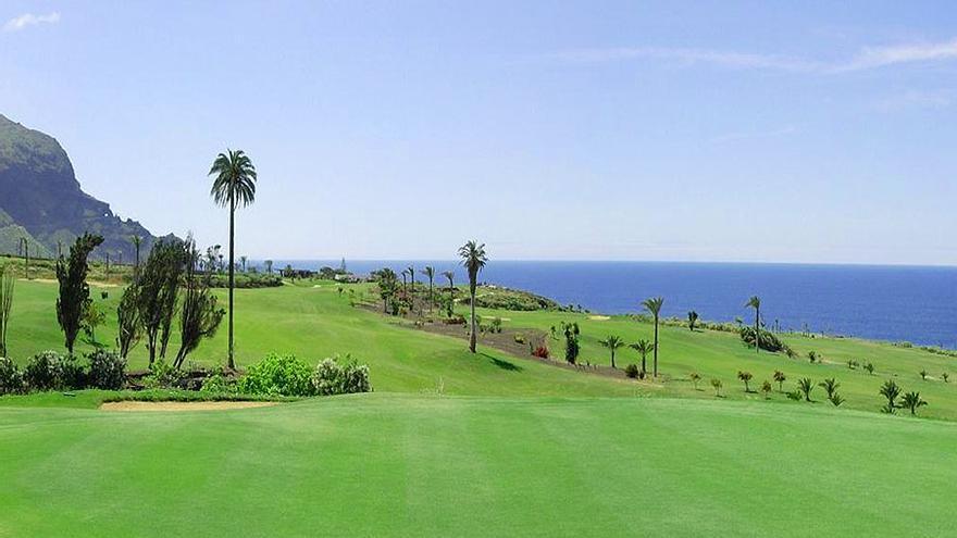 Campo de golf de Buenavista, en el norte de Tenerife, propiedad del Cabildo de Tenerife