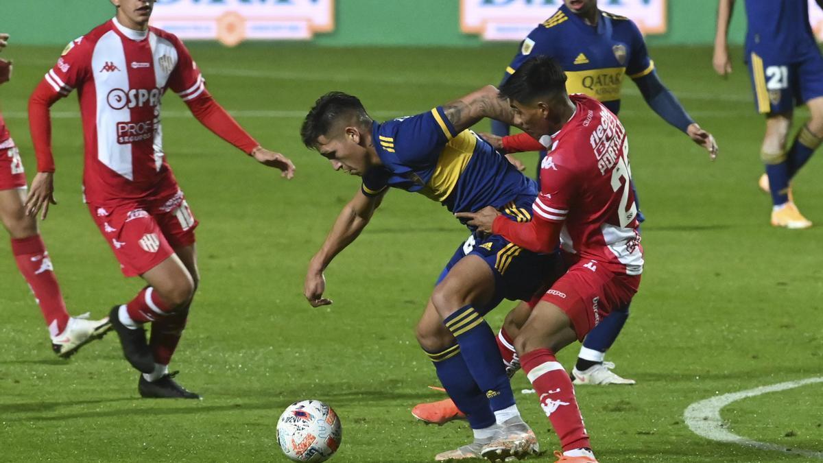 Unión se lo empató a Boca después de justificarlo durante el segundo tiempo.