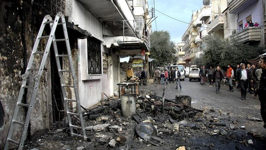 Casi 500 muertos en una semana de combates entre rebeldes y yihadistas en Siria