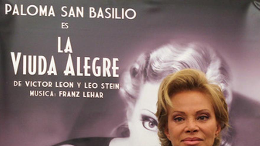 La actriz Paloma San Basilio