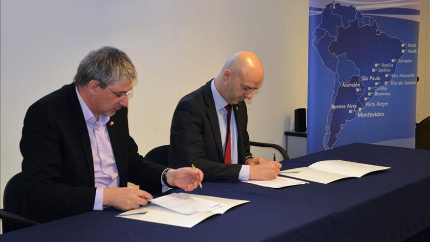 Firman acuerdo para reforzar los lazos comerciales entre Uruguay y Alemania
