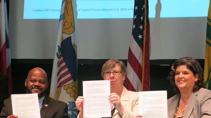 Puerto Rico e Islas Vírgenes firman un acuerdo contra el cambio climático