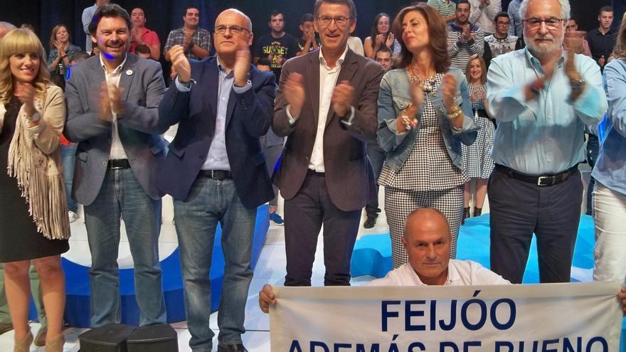 """Feijóo pide una """"mayoría tan determinante"""" que no se pueda """"cambiar"""" el resultado de las urnas"""