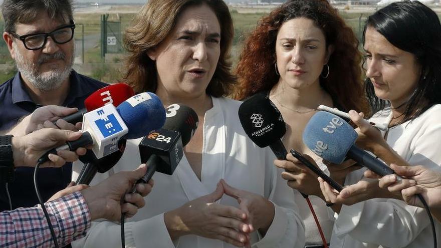 Ada Colau: Esto no puede seguir así, Barcelona no se merece esto