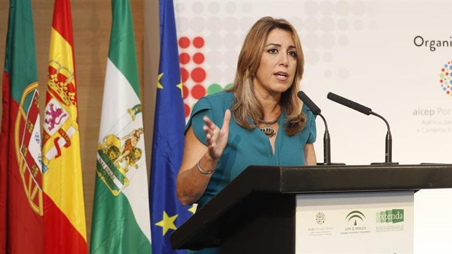 "Díaz reivindica la ""estabilidad"" andaluza para atraer empresarios portugueses"