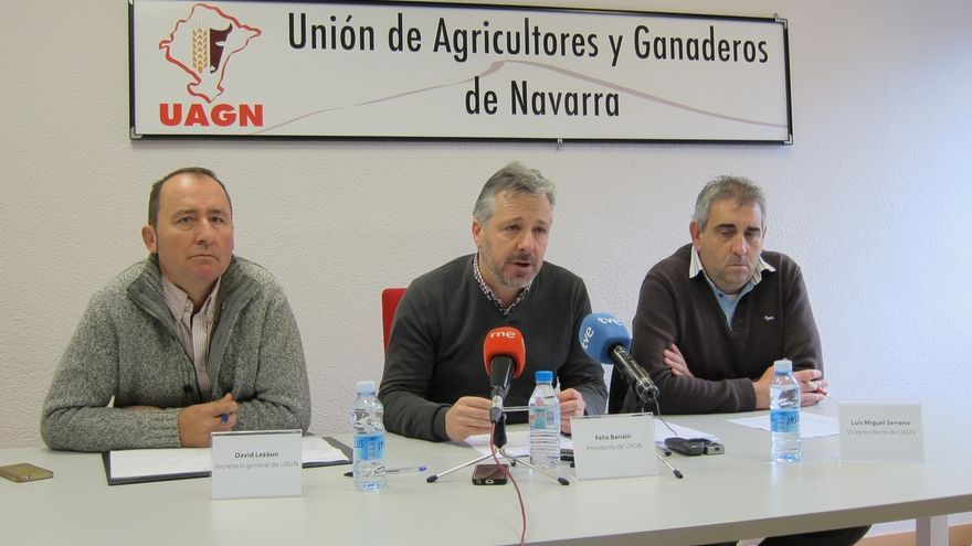 """UAGN considera """"positivo"""" el estudio del Gobierno sobre el Canal de Navarra, pero con """"reservas"""""""