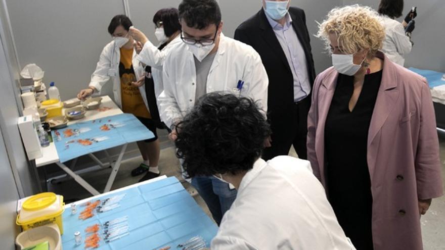 Vacunación en Reale Arena