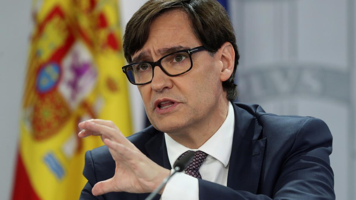 El ministro de Sanidad, SalvadorIlla. EFE/ Kiko Huesca/Archivo
