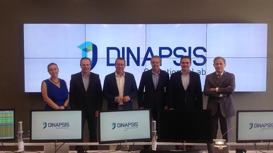 Imagen del encuentro coorganizado por  Hidraqua  en el Dinapsis Operation & Lab de la empresa del Grupo Suez,