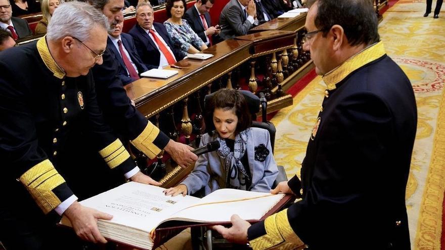 """El PP afea a Podemos su """"demagogia"""" sobre la accesibilidad del Senado y destaca el """"esfuerzo"""" para eliminar barreras"""