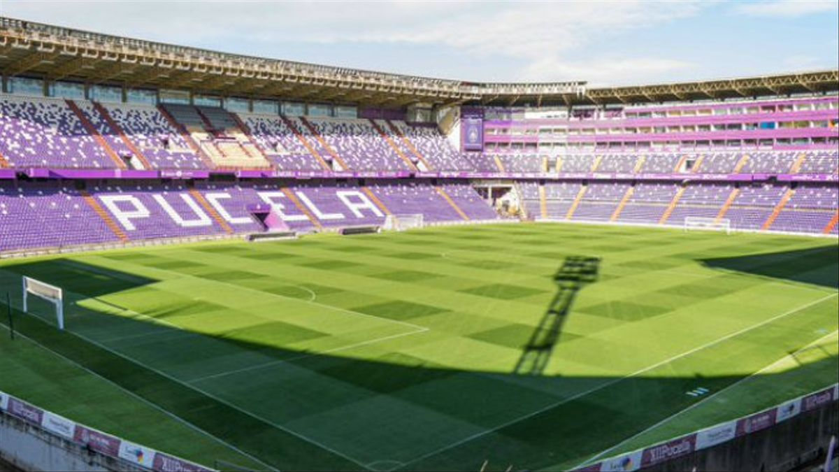 Estadio del Valladolid, José de Zorrilla.