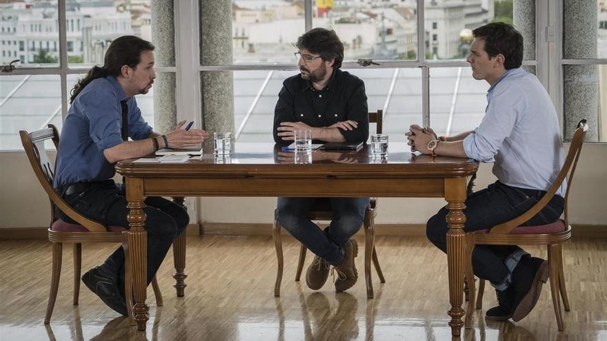 Pablo Iglesias y Albert Rivera se enzarzan en un bronco rifirrafe por Venezuela y los refugiados