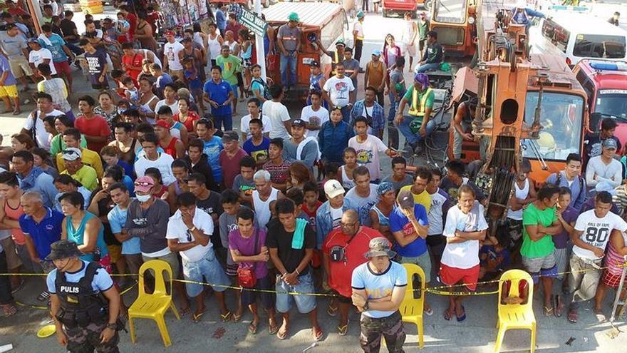 Un terremoto de magnitud 6,3 sacude la región central de Filipinas