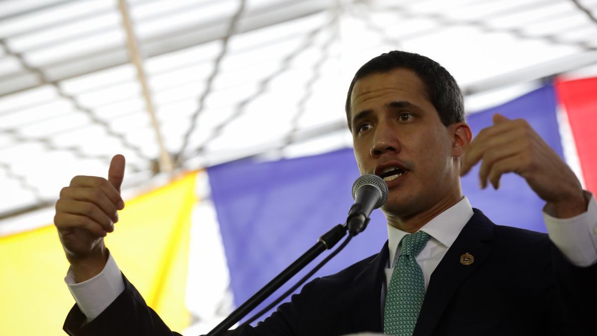 En la imagen, el líder opositor de Venezuela, Juan Guaidó.