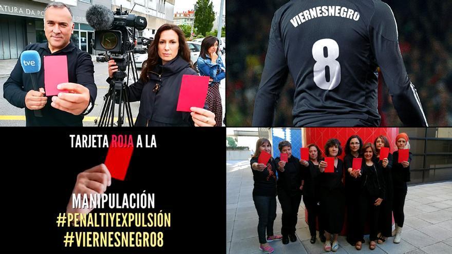 El octavo Viernes Negro en RTVE, con tarjeta roja a la manipulación
