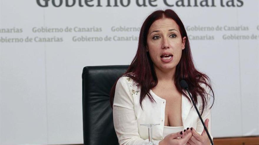 La vicepresidenta y consejera de Asuntos Sociales del Gobierno de Canarias, Patricia Hernández.