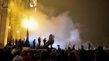 Tercera jornada de protestas en Budapest contra la polémica ley laboral
