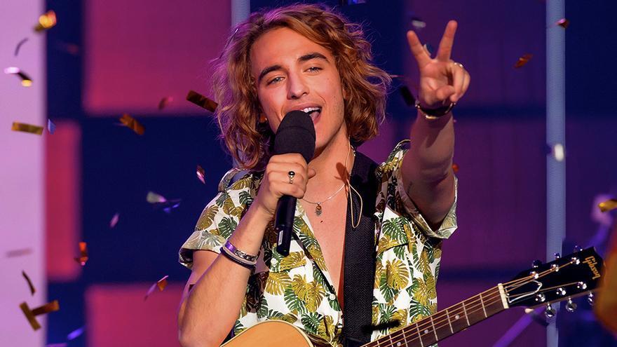 Manel Navarro, ganador de Objetivo Eurovisión