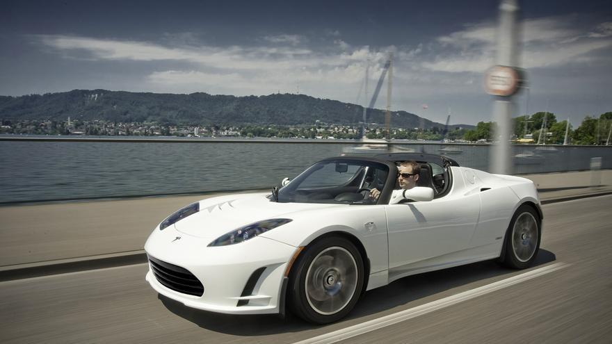 Coche eléctrico Tesla. / Foto: Teslamotors