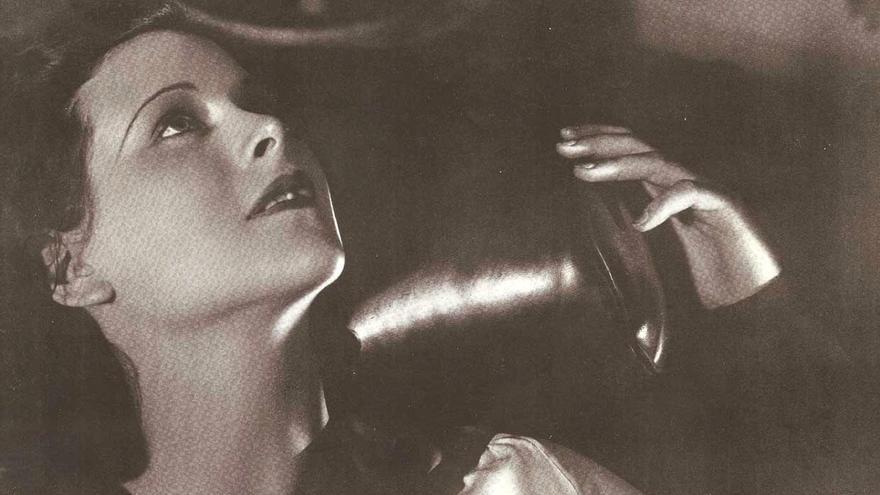 Hedy Lamarr, en una foto publicitaria.