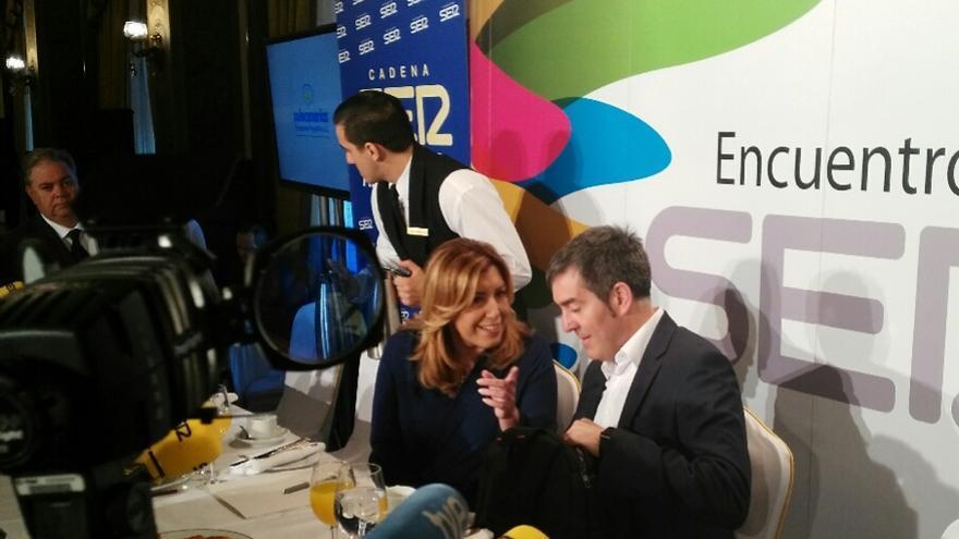 Susana Díaz y Fernando Clavijo