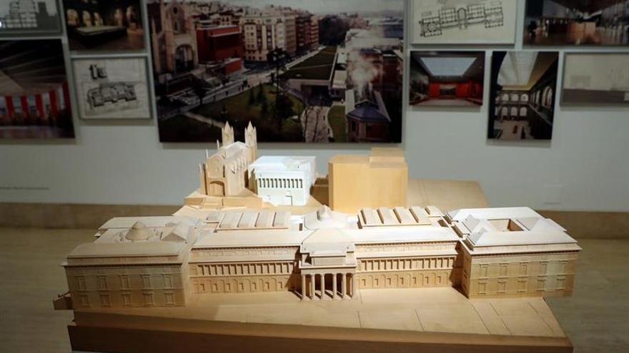Moneo, el arquitecto sin estilo, expone en su Thyssen