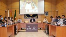Pleno del Cabildo de Fuerteventura durante el estado de alarma
