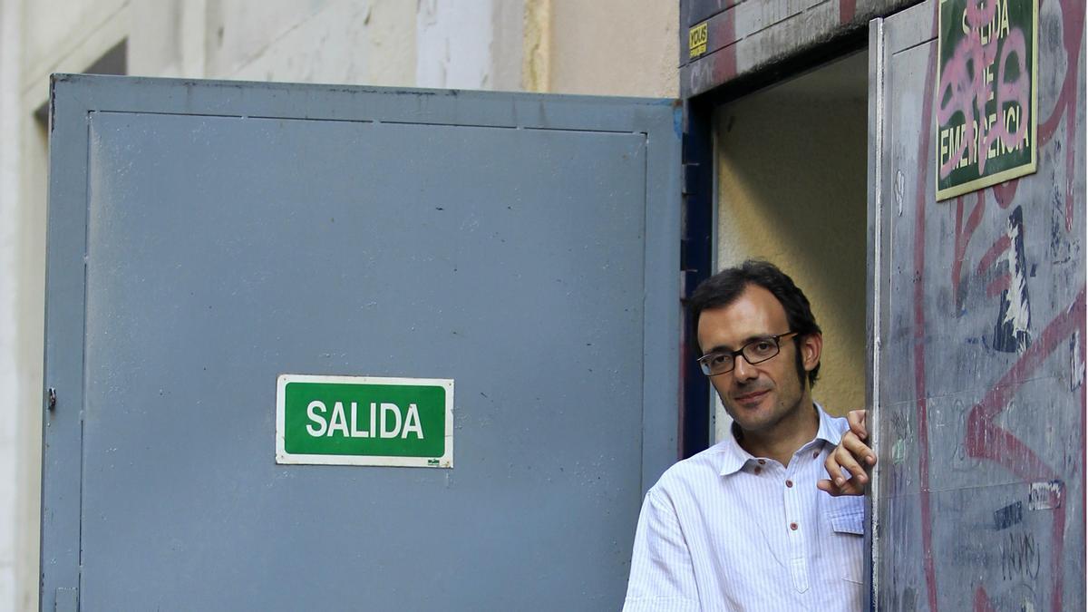 El escritor Isaac Rosa. / Marta Jara