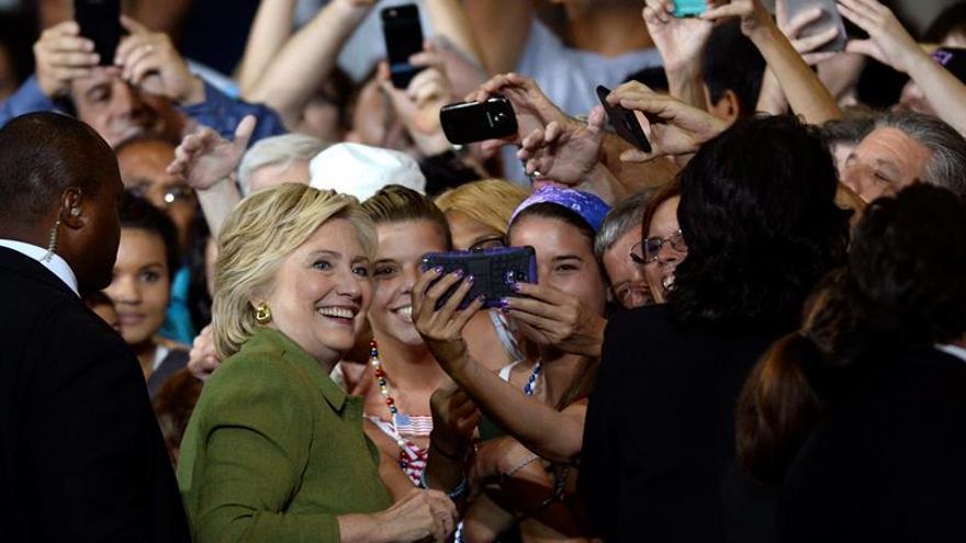 La fórmula Clinton-Kaine se presenta en público en Miami