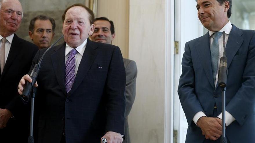 El Gobierno rechaza las exigencias de Adelson y descarta la construcción de Eurovegas