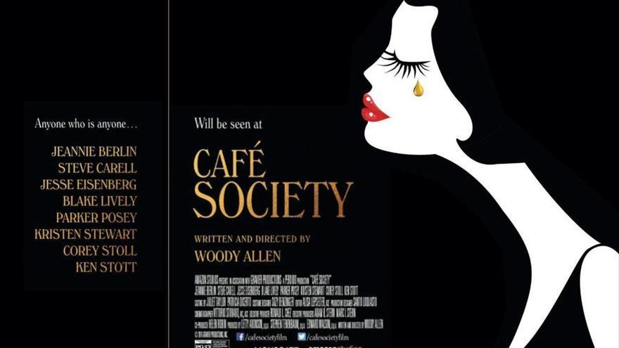 Cartel de la película 'Café Society', escrita y dirigida por Woody Allen.
