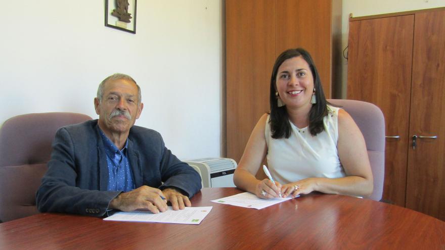 Firma del nuevo acuerdo con ADER.