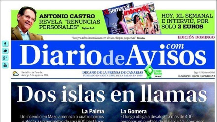 De las portadas del día (5/08/2012) #3