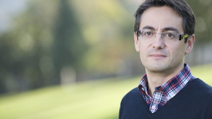 Borja Liano (PNV), alcalde de Muskiz.