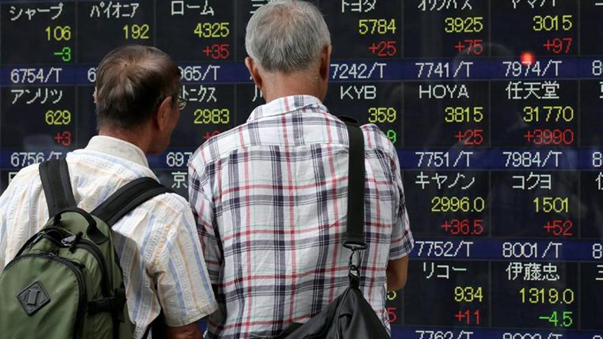 La Bolsa de Tokio abre con un retroceso del 0,26 % hasta los 18.933,82 puntos