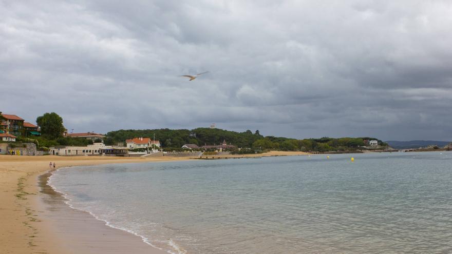 Playa de La Magdalena, en la Bahía de Santander.