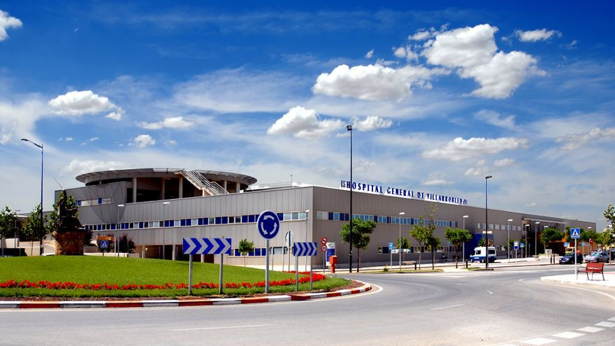 El hospital general de Villarrobledo. / JCCM