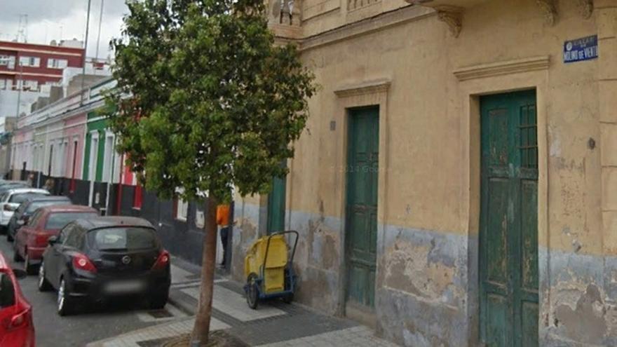 Calle Molino de Viento en Las Palmas de Gran Canaria