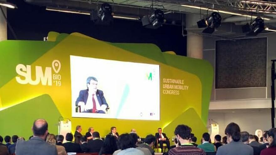 Congreso internacional SUM BILBAO 2019 (Sustainable Urban Mobility Congress.