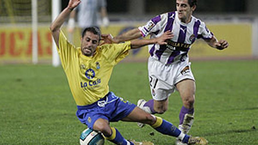La UD Las Palmas y el Real Valladolid no se enfrentan en partido oficial desde 2007. (QUIQUE CURBELO)