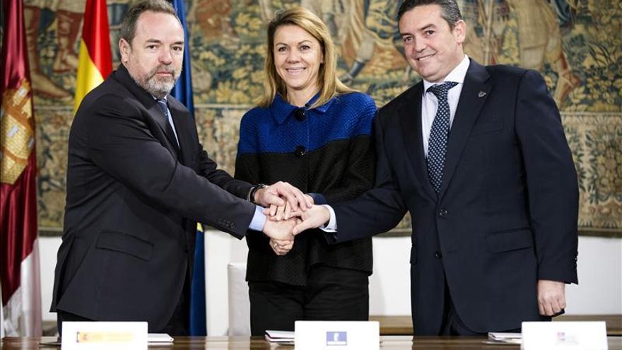 Cospedal asegura que en 2014, el año de El Greco, empezaremos a notar la recuperación