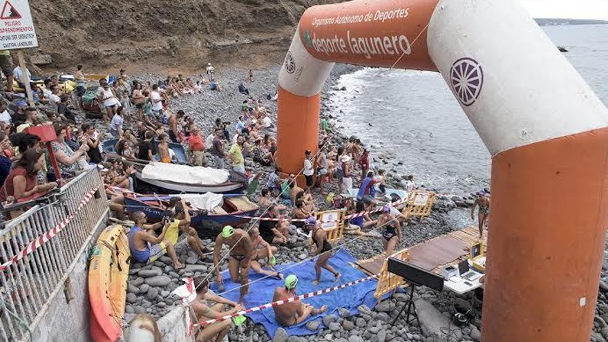 La Travesía a Nado Bajamar-Punta del Hidalgo se celebrará el 23 de julio / OAD La Laguna