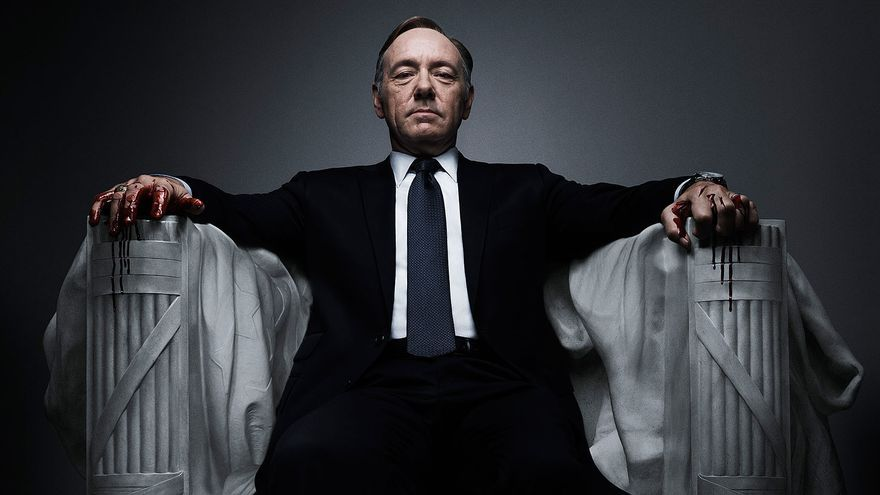 Kevin Spacey ha ganado un Globo de Oro gracias a su papel en 'House of Cards'