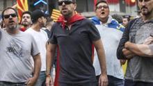 El presidente de la Interagrupación de Fallas estuvo en la contramanifestación del 9 d'Octubre